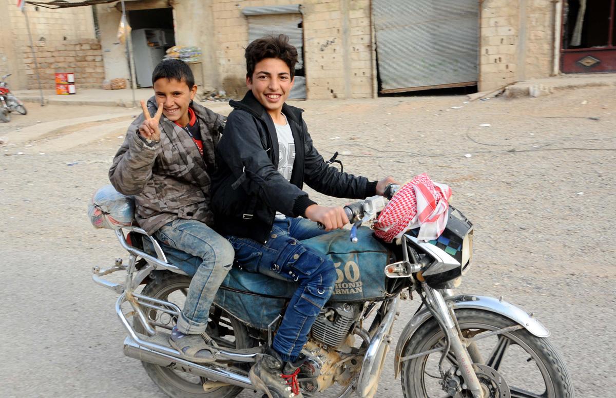 Raqqa bevrijdt