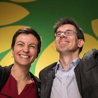 Ska Keller en Bas Eickhout
