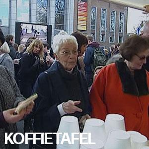Koffietafel Hoet - Koffietafel voor de overleden Jan Hoet
