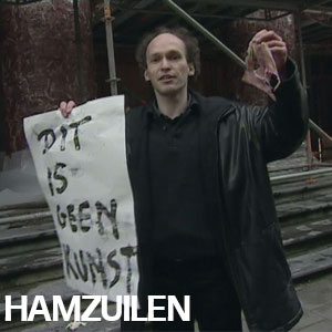 Hespenpilaren - Hanzuilen Jan Fabre lokken protest uit