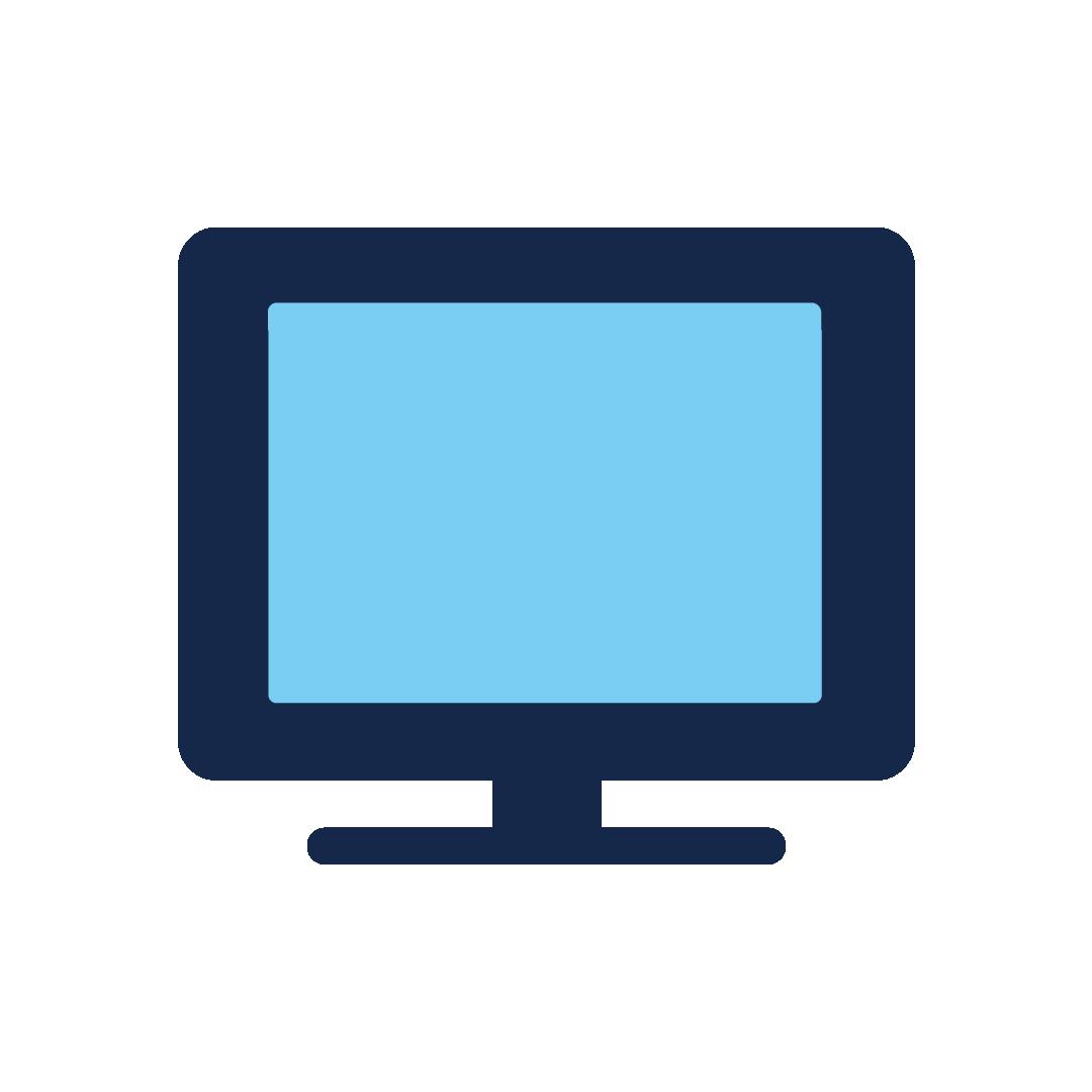icoon van een computer