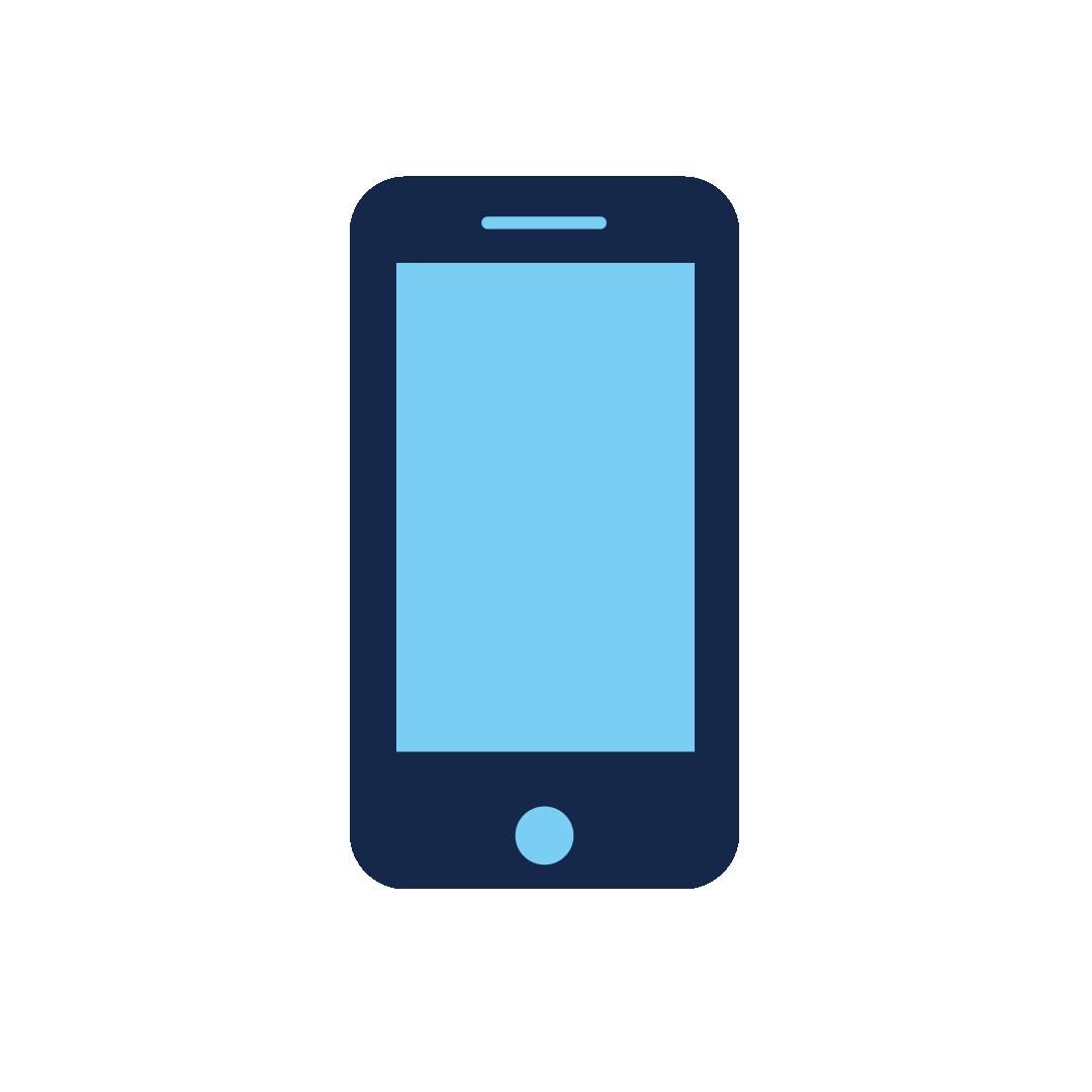icoon van een gsm