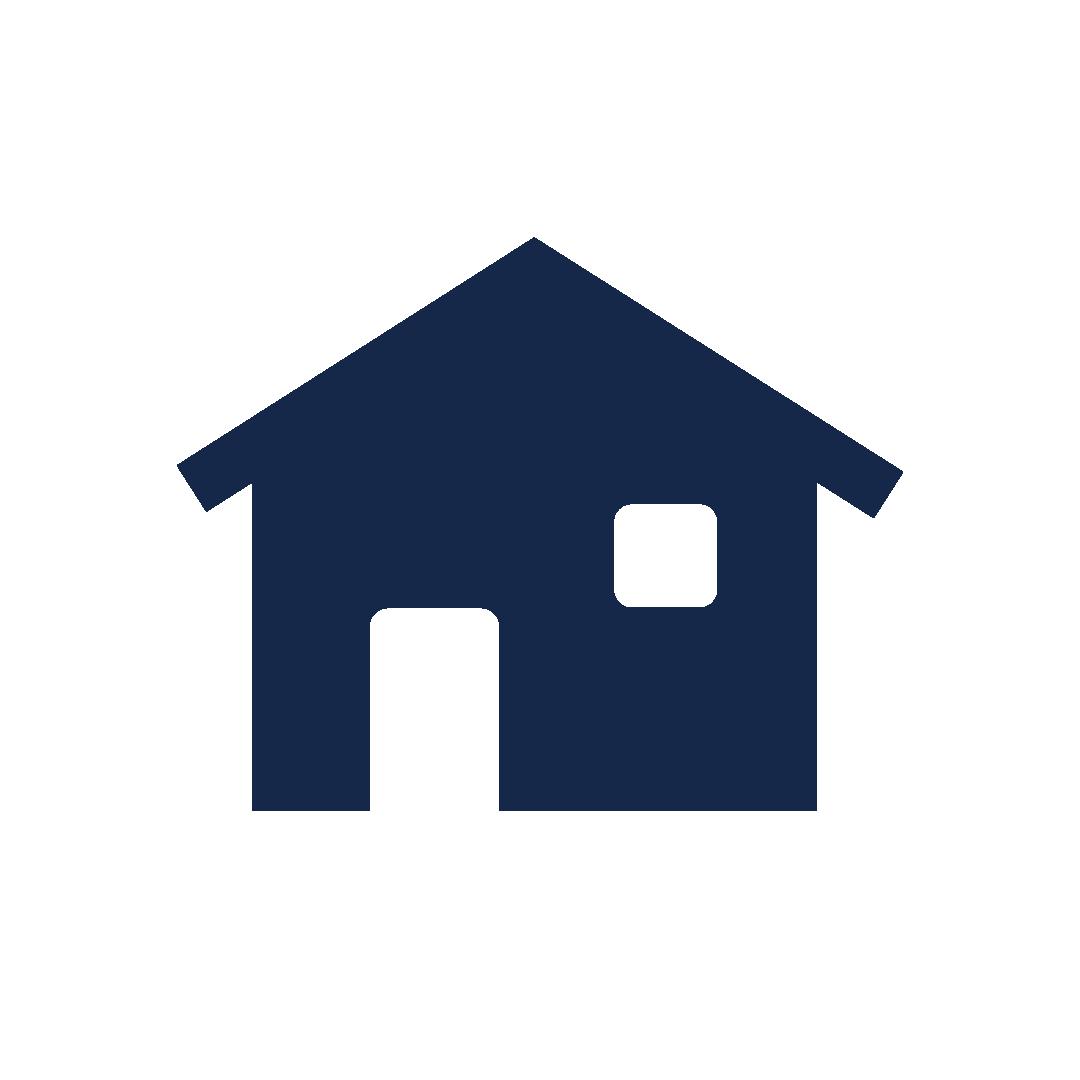 icoon van een huis