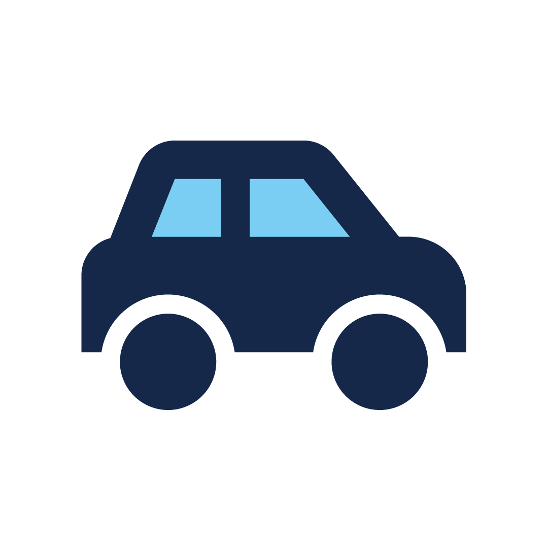 icoon van een auto