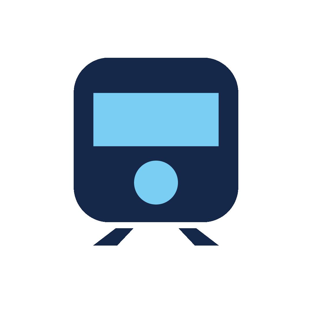 icoon van een trein