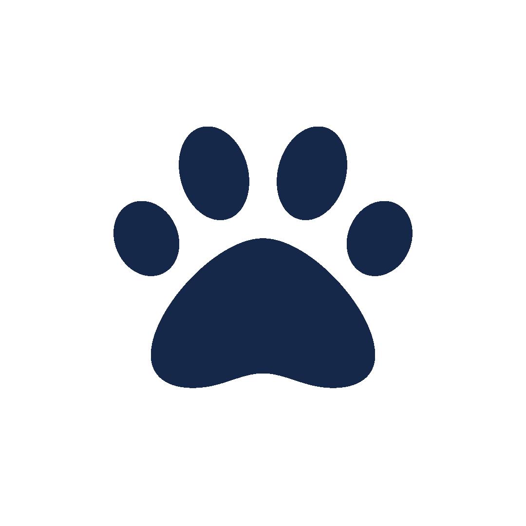 icoon van een dierenpootje